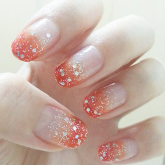 Summer Fresh - Sparkly Orange