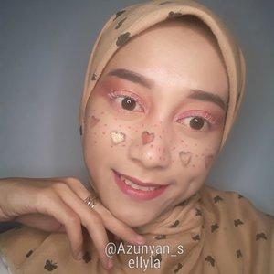 Freckles love cantik, semangat belajar makeup 😙