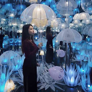 In the jelly fish room #ootd #fashion #clozetteid #beauty #blogger #model