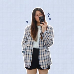 Casual blazer look 😗 #japobsOOTD . . #clozetteid #ootdindo #casualstyle #outfitinspo #outfitinspiration #aestheticstyle