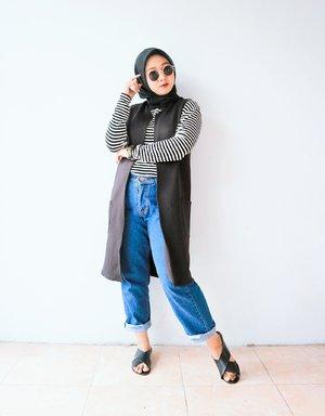 Outter : berrybenka Inner : Cotton On Scraft : Umama Pants : Local Brand Sandals : Rubi Sunglasses : Rubi