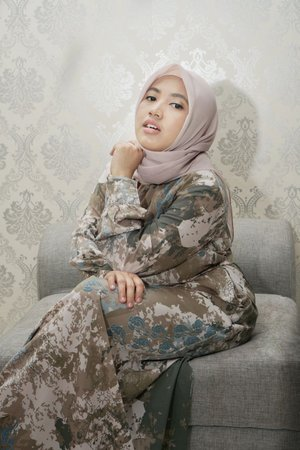 #ootdhijab #dress #ootdeidmubarak