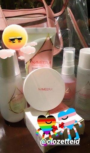Giveaway Nameera gift. Dapat bag sama produk dari Nameera 😍😍