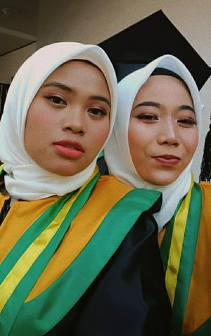 Throwback 2019Makeup graduation by ma self❤️#ClozetteID #Makeup #Graduation