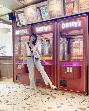 #Repost from Clozetter @isnadani.  Hehe spot tergemas di @dennys_id 😍 Dulu sering bgt dong main ini, dan kalo bisa dpt boneka nya tuh berasa seneng bgt wkwk omg seruuu😆 ( tap for details ) . . . . . #whatiwore #bloggerstyle #fashion #styleblogger #fashionblogger #ootd #lookbook #ootdindo #ootdinspiration #style #outfit #outfitoftheday #clozetteid