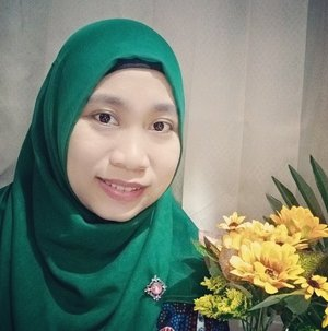 My favorite colour of hijab is green 😍🤗 #clozetteid #greenlover #hijab #colour