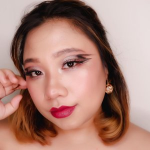 #Repost from Clozetter @reginapitupulu.   happy sunday 💖  . 🖤 @lagirlindonesia @lagirlcosmetics foundation  🖤 @pixycosmetics TWC 🖤 @mirabellacosmetics Lipcream 🖤 @makeoverid Highlighter  🖤 @mukka_kosmetik eyeshadow / eyebrow 🖤 I heart Makeup Eyeshadow 🖤 @blinkcharm fake lashes   .  . #reginapittutorial #reginapitcom #bvlogger #bvloggerid #indobeauautygram #Clozetteid #bloggermafia #sbybeautyblogger #beautiesquad #indovidgram #indovlogger #batak #bataknese #beautybloggerindonesia