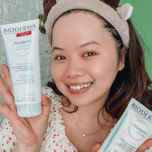 Trying this bioderma face wash and moisturizer 😍