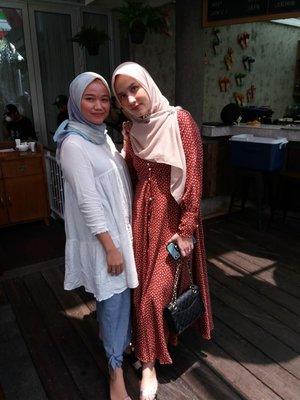 With mama Freya 🥰#clozetteID#OOTD