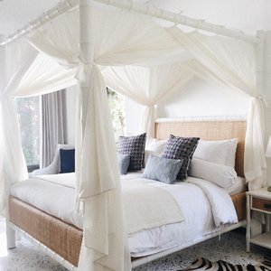 Aesthetic rustic bedroom feel in my villa 🌿 #throwback #wheninbali