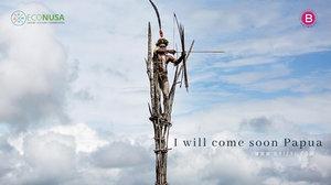 Berharap Jadi Nyata, Menyambut Senja di Pantai Base-G Papua Bersama yang Tercinta