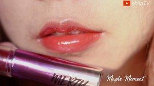 ✨MERZY AURORA DEWY TINT✨ [full video in my youtube channel / link at bio] Suka banget sama lip products yang hasilnya glow / dewy. Dan @merzy_official ini salah satu produk yang selain bagus banget, dia tetep bikin bibir nyaman gak lengket 😭 Aku paling suka DT9 #FantasiaSunshine warnanya lebih light dan ada sedikit glitternya 💖 ———— #머지 #오로라듀이틴트 너무 좋아해요! 너무 이쁘고 우아하게 보여요! 색갈이 #메이플모먼트 하고 #판타지아선샤인 두개만 있는데 다 좋아요. 특히 판타지아 선사인이 글리터 조금 조금 있어서 너무 이뻐요! 입술에서 촉촉한 만들어서 립밤 처럼 좋아요 💖 ——— #merzy #merzyindonesia #beauty #beautyvideo #dewytint #dewy #dewymakeup #cosmetics #makeup #koreanmakeup #cchannelid #clozetters #clozetteid #tellscoreid #lemonsquad #ragamkecantikan