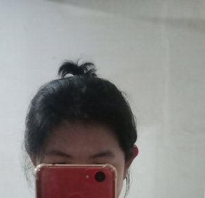 Simple evereyday casual updo hairstyle