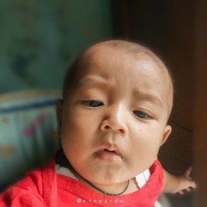 Dhavin mau selfie dulu ahhh✌_________________________#StoryOfBabyDhavinGhifari #BabyBoy #ClozetteID