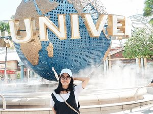 Setelah vakum liburan selama setahun lebih, finally bisa touchdown lagi ke negara orang. . . . . . #travelling #singapore #universalstudios  #travellinggram #letsgosomewhere #keepexploring #travelworld #clozetteid