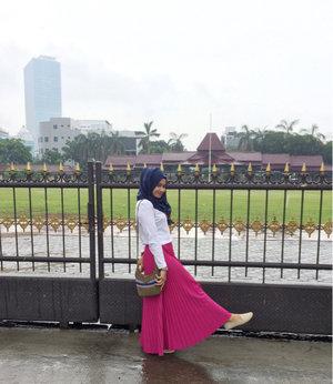 Cekrek 📷😍#ClozetteID #hijabers #pinkstyle