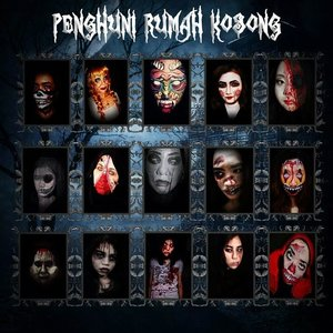 """Penghuni Rumah Kosong"" A Collaboration with my creepy fellas and available on my blog (link on my bio) to see all of us  #beautygoesbad #creepymakeup #halloweenmakeup #horrormakeup #instamakeup #clozetteID"