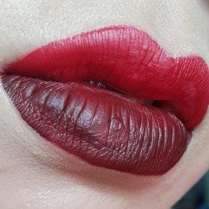 @lasplashcosmetics Poison Apple on top lip and Ravenclaw on bottom 😊😊😍😍😍#lasplashcosmetics #lasplashlipcouture #lasplashlipsmitten #lotd #clozetteID #lipoftheday #fotdibb #instamakeup #makeupartistindonesia #belajarmakeupjakarta #wakeupandmakeup #mayamiamakeup #auroramakeup #makeupmafia