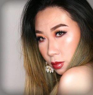 Makeup #boldlooks ini udh pernah gw share lho #minitutorial lho. Cek bbrp postingan sebelum ini ya kl penasaran pen tau tutonya okeyes?.Btw selamat deg degan menunggu hari Senin 😄 gw lagi berperang muterin Jakarta ditengah matjet nih...#makeupbold #boldlips #boldmakeup #wakeupandmakeup #tampilcantik #bunnyneedsmakeup #fdbeauty #Clozetteid #brian_champagne #inspirasimakeup #ragamkecantikan #indobeautygram #muajakarta #nextlevelfierce