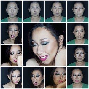 Contouring definetely part of my life! Thanks to Kevyn Aucoin who invented the techniques 😊😊 #motd #clozetteid #potd #makeupoftheday #bronzelikeaboss #sephorafreebies #wakeupandmakeup #makeupartist_worldwide #pinkperception #mayamiamakeup #lookamillion #blendthatshit #mykie_ #dressyourface #anastasiabeverlyhills #norvina #contour #amrezy #zukreat #hudabeauty #muajakarta #belajarmakeup