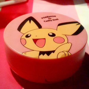 One of the newest product from @cathydollindonesia Cushion Blusher POKEMON SERIES! 💜💜💜💜 . #cathydollindonesia #cathydoll #cathydollxbeautyandthebeast #cathydollgathering #ibv #indobeautygram @indobeautygram #fdbeauty #makeupporn #makeupjunkie #clozetteid #beautychannel #youtuberindonesia