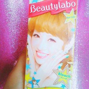 Yang penasaran dengan performa BEAUTYLABO Hair Coloring in BLEACH --Cuss, ke blogku :http://bit.ly/beautylabohair 🎊----#haircolors #ヘアスタイル #ヘアカラー #clozetteid #cchannelbeauty #cchannelbeautyid #beautynesiablog