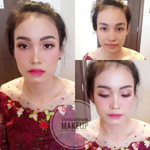 Before - After 🌸  info makeup :  082260592599  #bridesmaids #makeupartist #makeuppesta #makeup #engagementring #wisuda #wedding #amongtamu #makeuptutorial #makeupwisuda #makeupoftheday #engagementmakeup #mua #muajakarta #prewedding #clozetteid #wakeupandmakeup #hudabeauty #bloggerindonesia #beautyblogger #beforeafter #before #after #jakarta #depok #jabodetabek