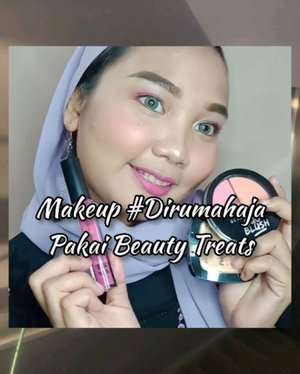 𝗕𝗲𝗮𝘂𝘁𝘆 𝗧𝗿𝗲𝗮𝘁𝘀 𝗢𝗻𝗲 𝗕𝗿𝗮𝗻𝗱 𝗠𝗮𝗸𝗲𝘂𝗽 𝗧𝘂𝘁𝗼𝗿𝗶𝗮𝗹 ♡ . Hii everyone! walaupun sekarang kita #dirumahaja tapi harus tetap tampil cantik dan fresh dong 🤭 and here's a makeup tutorial buat kalian yang #dirumahduluaja  Kalian wajib banget cobain koleksi makeup dari @beautytreatscosmetic karna harganya sangat affordable 💕 . 𝗠𝗮𝗸𝗲𝘂𝗽 𝗱𝗲𝘁𝘀: 👄 𝗣𝗲𝗿𝗳𝗲𝗰𝘁 𝗠𝗲 𝗟𝗶𝗾𝘂𝗶𝗱 𝗰𝗼𝗻𝗰𝗲𝗮𝗹𝗲𝗿 𝘀𝗵𝗮𝗱𝗲 𝟬𝟭 👄 𝗣𝗲𝗿𝗳𝗲𝗰𝘁 𝗠𝗮𝘁𝗰𝗵 𝗣𝗼𝘄𝗱𝗲𝗿 𝗙𝗼𝘂𝗻𝗱𝗮𝘁𝗶𝗼𝗻 𝟮𝟰𝗛 𝘀𝗵𝗮𝗱𝗲 𝟬𝟯 👄 𝗗𝘂𝗼 𝗕𝗹𝘂𝘀𝗵 𝘀𝗵𝗮𝗱𝗲 𝟬𝟮 👄 𝗧𝗿𝘂𝗲 𝗠𝗮𝘁𝘁𝗲 𝗟𝗶𝗽 𝗖𝗼𝗹𝗼𝗿 𝘀𝗵𝗮𝗱𝗲 𝟬𝟰  Favorit aku powder foundation nya 😍 coverage powdernya bagusss banget loh! Thankyou @beautycollab.id ✨ #beautytreatscosmetic #beautycollabid