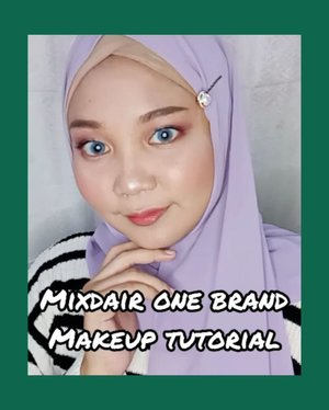 Mixdair One Brand Makeup Tutorial✨ . Luv banget sama beauty spongenya @mixdair_indonesia so squishy! and ofc kecintaanku sih eyeshadow glitternya uwu 😍 . Makeup Deets: 🍉 Mixdair Serum 🍉 Mixdair BB Cream 🍉 Mixdair Eyeshadow Glitter 🍉 Mixdair Mascara . . . . @mixdaircosmeticstore #mixdair #mixdaircosmetic #hijabersindonesia #ootdhijab #tipskecantikan #giveawayindonesia #makeupmurah #cantikekonomis #belajarmakeup #makeupnatural #inspirasicantikmu #makeupoftheday #ragamkecantikan #tutorialmakeupindo #tutorialmakeup #makeuptutorial #makeuppemula #tampilcantik #onebrandmakeup #makeupunder100k #zonamakeupid #tipskecantikan #tutorialmakeupnatural #makassarbeautygram #beautyinfluencermakassar #beautybloggermakassar  #makassarbeauty #clozetteid
