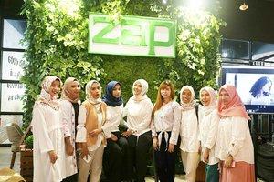 Attending at Grand Opening @zapcoid @zapnipahmakassar bersama teman-teman blogger dari @makassarbeautygram ❤....#zapclinic#discoveryourconfidence#clozetteid#clozettexzap#discoveryyourconfidence