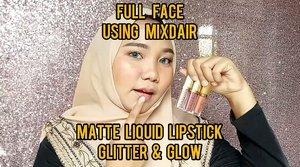 Hii~ Happy weekend guys❣️ Ada ratjun produk baru nih dari @mixdair_indonesia 😍 Percaya gak sih harga 1 set ini cuma Rp90.000 aja 😱 kalian sudah dapat 6 product yaitu 3 Matte Lipgloss dan 3 Glitter & Glow ✨.My Review :(+) Harga murah⭐ packaging cantik & ramping⭐ warnanya cantik-cantik banget! Untuk Matte Lipgloss nya ~ warna nudenya cakep banget, gak pucat *Favoritku shade no 02 dan 03⭐ untuk glitter & glownya warnanya cukup natural, glitternya gak menor, cocok dipakai sebagai eyeshadow *Favoritku semua warnanya hihi⭐ teksturnya lumayan creamy, gak langsung nge-set⭐hasilnya matte dan gak gampang hilang walaupun dipakai makan & minum.(-) nah karna aku gak begitu suka sama wangi-wangi yang terlalu menonjol .. Menurutku kekurangannya cuma diwanginya aja nih 😢 untuk Matte Lipgloss nya wanginya terlalu strong pada saat awal pemakaian, tapi setelah nge-set wanginya akan memudar dengan sendirinya 😊 kalo kalian udah biasa dengan wangi2 yang strong pasti akan fine fine aja ❤.Buat yang penasaran mau cobain bisa langsung kepoin IG nya yah @mixdair_indonesia atau klik link di BIO nya 💕....#mixdair #mixdaircosmetic #makeupmurah #tutorialmakeupsimple #belajarmakeup #cantikekonomis #tipskecantikan #belajarmakeup #tutorialmakeup #makeuppemula #kecantikan #inspirasicantikmu #tampilcantik #makassarbeautygram #beautyinfluencermakassar #makassarbeauty #influencermakassar #lipsticklover #clozetteid