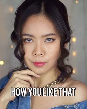 *HOW YOU LIKE THAT?!*Lagunya terngiang terus. Inspired by @jharnabhagwani , but I try to transforming @jennierubyjane look on @blackpinkofficial MV official video🥰#howyoulikethat #blackpink #makeuptutorial #tiktokindonesia #jakartabeautyblogger #indobeautygram #indobeautysquad #bcc #clozetteid #cchannelbeautyid