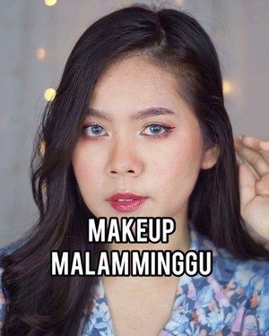 Selamat bermalam minggu... (Keasikan main tiktok, baru sadar lama gak bikin tutorial gini)Akhirnya new normal menghalalkan para pasangan utk bertemu. Setelah sekian bulan purnama, cuma video call-an skg udah bisa kan kangen-kangenan in real life. WkBuat yg gak malem mingguan, yauda makeupnya buat nunggu abang bakso lewat aja. Kita baksoan bareng😝💕✌🏻..#makeupideas #beautysociety #makeuptutorial #indobeautygram #beautybloggerindonesia #beautysociety #tutorialmakeup #makeuplooks #tipsmakeup #100kmakeupchallenge #dailymakeup #simplemakeup #drugstoremakeup #clozetteid #cchannelbeautyid #cchannelfellas #tiktokindonesia #beautycreatorcommunity #bccindo  #indobeautysquad #makeuplipsync @indobeautygram @beautybloggerindonesia @beautiesquad @clozetteid @tampilcantikcom