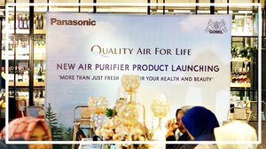 strawberry cheesecake:  Launching New Panasonic New Air Pirifier and New Car Purifier