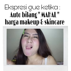 "Ekspresi gue ketika :  Auto bilang "" MAHAL "" harga makeup dan skincare  _ Biasanya pas lagi ke Sephora ini euy 😂😂, Jiwa misqueen ku menjerit tak Mampu membeli Skincare dan Makeup Highend 😑😑😭😭😭😭 . . . . #sobatmiqueen #awreceh #recehtapisayang #meme #lol #clozetteid #memelucu #memewanita #beauty #memebeauty  #receh #recehinaja #recehtapiviral #recehbanget  #recehkaninstagram  #recehanstory #dagelan #dagelanindo #dagelanviral #dagelanlucu #dagelanvideo #meme #memeid #memestagram"