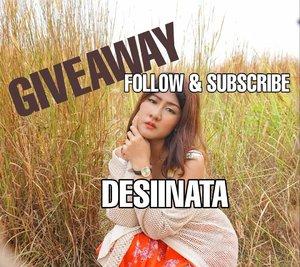 Giveaway time !!! Hay Follower ku, aku mau bagi produk skincare dan makeup secara GRATIS!!! GRATIS !!! GRATISS !! Semua produk akan bisa kamu dapatkan secara cuma-cuma hanya dengan cara mudah. _ [1] Follow Instagram @DESIINATA [2] Subcribe Youtube Chanel DESIINATA [3] Like Fans Facebook DESIIINATAA [4] Screenshoot Bukti Kamu Follow dan Subcribe DESIINATAserta Like Fans FB [5] PIlih Paket Produk yg kamu inginkan dg Screetshoot/Repost tsb [6] Upload semua ketentuan dlm bentuk multipost [7] Gunakan Hastag #DESIINATA #GIVEAWAYDESIINATA _ [8]. Akun instagram tdk blh diprivate selama kompetisi berjalan dan setelah menang tidak boleh unfollow atau unsubcribe karna bila terbukti melakukan tsb akan di Block Abadi[9] Berlaku di Seluruh Indonesia _Spam like, Koment akan mempengaruhi penilaian pemenang _Periode berlaku sampai 30 April . . .#kuis #quiz #infoquiz #infokuis #kuisberhadiah #kuisinstagram #kuismakeup #kuisberhadiah #hadiahgratis #giveaway #Minikuis #clozetteid
