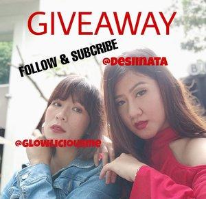 Giveaway time !!!Hay Follower ku, aku mau bagi produk skincare dan makeup secara GRATIS!!!GRATIS !!! GRATISS !! Semua produk akan bisa kamu dapatkan secara cuma-cuma hanya dengan cara mudah. _[1] Follow Instagram @DESIINATA & @glowliciousme [2] Subcribe Youtube Chanel DESIINATA & GLOWLICIOUSME [3] Screenshoot Bukti Kamu Follow dan Subcribe DESIINATA dan GLOWLICIOUSME [4] PIlih Paket Produk yg kamu inginkan dg Screetshoot/Repost [5] Upload semua ketentuan dlm bentuk multipost [6] Gunakan Hastag #DESIINATAXGLOW #GIVEAWAYDESIINATAXGLOW [7]. Akun instagram tdk blh diprivate selama kompetisi berjalan dan setelah menang tidak boleh unfollow atau unsubcribe karna  bila terbukti melakukan tsb akan di Block Abadi[8] Berlaku di Seluruh Indonesia _Spam like, Koment akan mempengaruhi penilaian pemenang _Periode berlaku sampai 30 April ...#kuis #quiz #infoquiz #infokuis #kuisberhadiah #kuisinstagram #kuismakeup #kuisberhadiah #hadiahgratis #giveaway #Minikuis #clozetteid