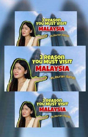 "3 Reason You Must Visit  Malaysia, Check !! Nonton videonya secara Full karna ini dapat menjadi Rencana kamu jadi ke Malaysia mengulik informasi tentang MalaysiaSupport by @berjayahotelsresorts @medtourismmy.id @malaysiahealthcareSumber Youtube "" desii nata ""Check Link di Bio atau visit https://youtu.be/2Sm1Q1Agyyk #liburansehat #malaysiahealthcare #RinduMalaysia ... #selfie #셀스타그램 #강남 #일상 #소통#일상스타그램 #소통스타그램 #좋아요#좋반 #선팔 #얼스타그램 #셀카 #셀피#좋아요반사 #likeforlikes #likeforlike#likeforfollow #맞팔 #clozetteid"