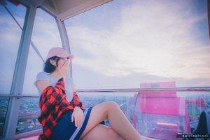 Perfect Vanilla Sky  #ferriswheel 🎡