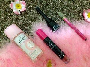 My beauty essentials from @pixycosmetics (1) #MyBeautyEssentials #PIXYCoverSmooth #makeup #clozetteid #flatlay