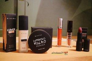 ~ sept 28, 2019.Yang mana product makeup @riveracosmetics favorit kalian? Share yuk di kolom komentar ♥ Kalau aku, semuanya favorit sih khususnya Rivera Luminous Micro Powder dan Rivera Gotta Be Matte Lipcream 100% Recommended pokoknya ❤ ...#AForAlinda #Alinda #Alindaaa29 #jalani_nikmati_syukuri #rezekigakketuker #ClozetteID #RiveraCosmetics #SelfieAddictPowder #LuminousMicroPowder #CoverItAllFoundation #Riverans @riveracosmetics