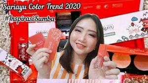 🎥 VIDEO MAKEUP TUTORIAL 💄 . Finally, video makeup tutorial ala ala video aesthetic nya tiktok already up guyss!! 💕 .  Tutorial makeup kali ini, aku pakai produk NEW COLOR TREND @sariayu_mt 2020 #InspirasiSumba yaitu: 🌷Sariayu Eye Makeup Kit. 🌹Sariayu Cheek Palette (shade: Peach). 🌻 Sariayu Lip & Cheek (shade: 01 Rosy) . BEST BANGETT SIHH!! @sariayu_mt memang produk lokal yg kualitasnya ga perlu diragukan lagi! 🌟 .  Inovasi terbaru mereka yg bertajuk #InspirasiSumba menghadirkan Eye Makeup Kit yg multifungsi, bisa dijadikan sbg eyeshadow, eyebrow & eyeliner. Selain itu, yg jadi fav ku juga adalah Lip & Cheek nya yg super LUAR BIASA dari tekstur, warnanya, dan bener2 mudah di-blend shg cocok dijadikan sbg base eyeshadow & blush on juga. Eitsss, ga boleh lupa tetep harus double blush on pakai Cheek Palette nya Sariayu yg ada highlighter & contour nya loh. Menariknya lagi, ketiga produk ini punya packaging yg travel friendly. Intinya hanya dg 3 produk, banyak sekali kegunaannya �� . . Makin penasaran kan? Harganya juga masih terjangkau kok! Yuk samaan, apalagi LIP n CHEEK nya RECOMMENDED banget ✨ . . 💃 Ꮇ�Ꭵ 19, 2020 . #AforAlinda #Alindaaa29 #Alinda #ClozetteID @clozetteid @sariayu_mt @bloggervloggersmg #AutoCantik #FearlessBeauty #CleanBeauty #InspirasiSumba #bloggervloggersmg #makeup #makeuplook #inspiredmakeup #inspirasikecantikan #selfquarantine #quarantinedays #dirumahaja #BloggerSemarang #VloggerSemarang