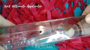 ~ Jan 28, 2019.Udah pada tahu kan kalau aku dapet brush dan sponge blender dari @armandocarusoid 😍 Nah, apa aja sih kegunaan tools makeup dari Armando Caruso ini? Yuk kepoin ya videonya 😘 .Mana nih brush atau sponge blender favorit kalian? Komen yuk!.Thankyou @armandocarusoid x @beautycollab.id.🌻 FAQ:💡 Lighting: Selfie Ringlight🎥 Shooting: Oppo F5🎬 Editing: Inshot🎶 Music: Balloon - Ikson Official.#AForAlinda #alindaaa29 #alindaaa #alinda #ClozetteID #MiniReviewbyAlinda  #jalani_nikmati_syukuri #rejekigakketuker #BeautyCollabID #BCollabID #BeautyCollabIDxArmandoCaruso #ArmandoCaruso