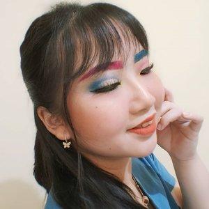 MAKEUP IS AN ART 🎨 . . sebagai beauty content creator, ya gini ini setiap harinya selalu mencari ide konten apakah yang akan diupload esok hari? .  kalau belum nemu, ya posting apapun sesuka hati yg penting feed nya ga sepi dan tetap berwarna. Hayo, siapa yang gini juga? 🌈 . . 🕊️ ᴊᴜʟʏ 23, 2020 . #AforAlinda #Alindaaa29 #Alinda #ClozetteID @clozetteid #makeup #makeuplook #facepaint #facepainting #inspiredmakeup  #inspirasikecantikan #tampilcantik #beautycollabid #bloggervloggersmg #quarantinedays #quarantine #dirumahaja #ubahinsekyurjadibersyukur #jalani_nikmati_syukuri #rezekigakketuker #VloggerSemarang #BloggerSemarang