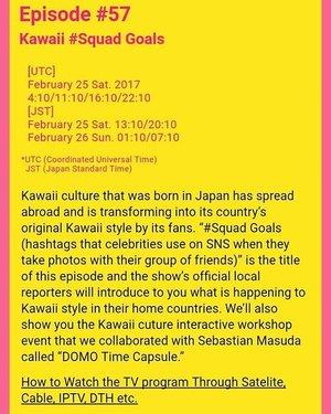 Sat, February 3rd, 2017 --- 🎬🎥📺 #kawaiisquad #Kawaii #squadgoals . Hihihi... berasa seleb pake #squad nyaingin Gigi Hadid and Taylor Swift 😂😂😂 Don't miss the show! Will give you the link after #broadcasting #wideworld via #NHKWorld on February 25-26, 2017! 😘 🎥🎬📺 I've just found this at #NHKWorld #Japan #website about #KawaiiInternational @kawaiiiofficial #kawaiireporter 😄 So nice .... Only 2 girls from #Asia who has been chosen as Kawaii Reporter ; me ( #HestiHarajuku ) and Kai from Singapore. 2 from #USA, Audra and my new kawaii friend @minakosakurai chan 💕 , 2 girls from #France (Mila and Marie) , others from #Bolivia (Kazumi), #Russia (Kseniya), & #Argentina (Violet) 🌸🌸🌸 Oyasuminasai, Minnasan! Be a #dreamer and makes your dreams come true ! 📺🎥🎬 @clozetteid #clozetteID #fashiontvshow #fashion #style #Japanstyle #TVProgram #TVShow #headscarf #modestfashion #modestwear