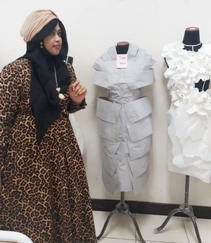 Thu, May 24th, 2018--- Assalamualaikum!... #HappyRamadhan ! Ini hasil karya students 2A #Desmodian #PoliMedia . Keren yaa... 😘💖🎓👗 - - - #clozetteid  #nhkkawaii  #hootd #campuslife  #PoliMedia  #DesainMode #turban #modestfashion #modestwear