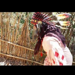 LATEPOST (Edisi #KangenJogja) Wed, August 16th, 2017--- Theme : #Apache #Warrior #Princess  #Photographer : @dewirahmawati29 Location : #Imogiri #PineForest #Yogyakarta Model: #HestiHarajuku #warbonnet : @waroeng_indian_apache - - - - - - - #clozetteid  #modestwear #hijabtraveler #hootd #Indian #Yogyatrip #VisitYogya