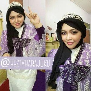 🎀🌹🎀#ClozetteID #GoDiscover #HijabFestive 🎀🌹🎀 @clozetteid #fashion #style #instabeauty #instafashion #glamour #vintagefashion #vintagestyle #scarf #headscarf #modesty #modestfashion #coveredstyle  #laces #bolero #partydress #classy #CultPartyKei #dollykei #purplelavender #tenun #Indonesia #Tiara