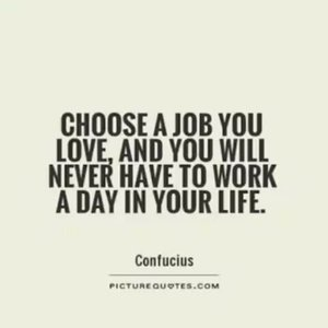 """""""Choose a #job you #love, and you will never have to #work a day in your #life ."""" - #Confucius - - - - - - - #clozetteid #fashion #style #quotesoftheday #fashionauthor #fashiongrammer #TokyoStreetstyle #kawaii #lecturer #NHKWorld #kawaiireporter"""