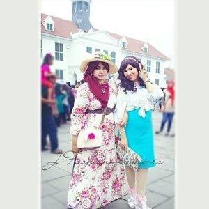 @zaloraid @clozette #Clozette #ClozetteID #HDILAsia #tryanotherlook 🌹💜🌹 #flowerpattern #flowerprint #ootd #modestfashion #coveredstyle #scarf #headscarf #fashion #style #modesty #stylish #vintagefashion #vintagestyle #instafashion #hijabstyle #hijabindonesia #scarfstyle  #kotatuajakarta #jakartastreetstyle #MuslimahTraveler #kawaiistyle #stylishtraveler #OOTD #gyaru #gaijingyaru #ギャル